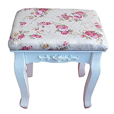 Stool Dana Carrie Green salad dressing chair fabrics small party of white dressing table solid wood changing shoes bench, red on quarter.