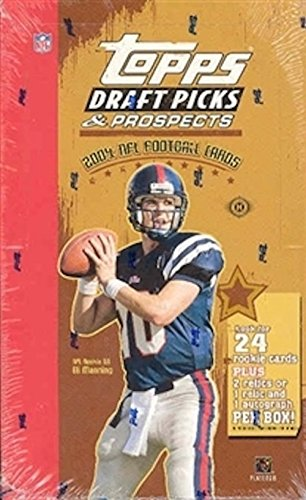 2004 Topps Draft Picks & Prospects NFL Football HOBBY box ()