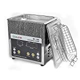BAKU BK-1200 Professional Digital Stainless Steel Ultrasonic Cleaner with Heater Timer, Use for PCB/Circuit Board Consumer Electronics, Jewelry, Glasses (BK-1200 / 1.6L)