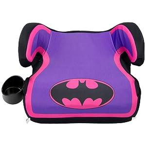 KidsEmbrace Batgirl Booster Car Seat, Warner Bros Youth Backless Seat, Purple