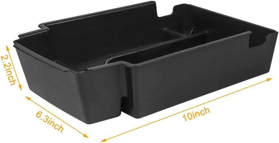 Salusy Armrest Center Console Organizer Tray Compatible for 2019 2020 Blazer Accessories Storage Box