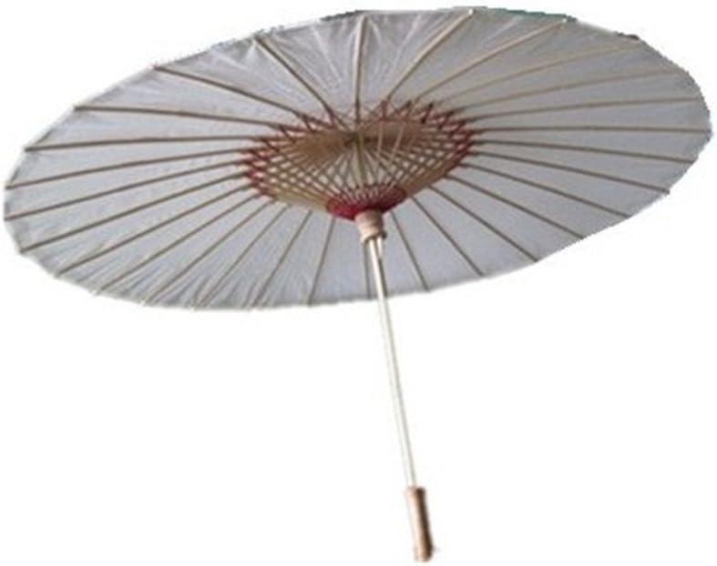 Caomoa De bambú del paraguas del paraguas de estilo chino la antigüedad china del palo de sombrilla