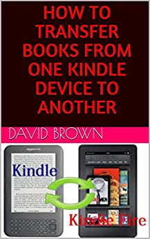 Transfer kindle books to computer
