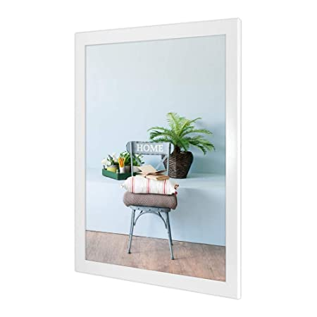 Jigsaw Puzzle 50 x 70 Format Photo Frame Monza in White High Gloss ...