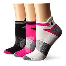 ASICS Women's Quick Lyte Cushion Single Tab Running Socks