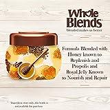 Garnier Whole Blends Honey Treasures Repairing Hair Mask for Dry Damaged Hair, 10.1 Fl Oz