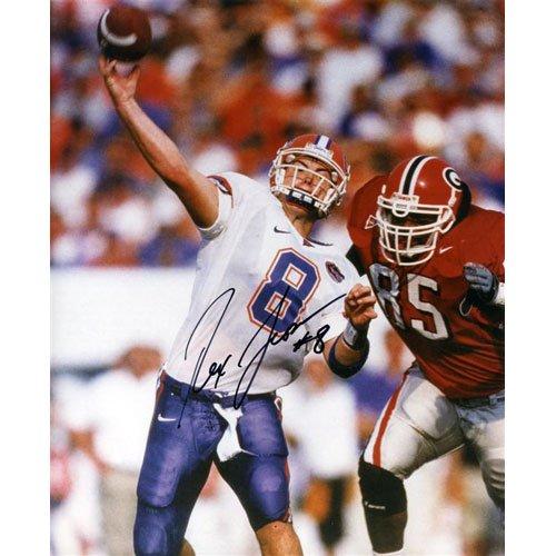 Rex Grossman Autographed Florida Gators (vs Georgia) 8x10 Photo