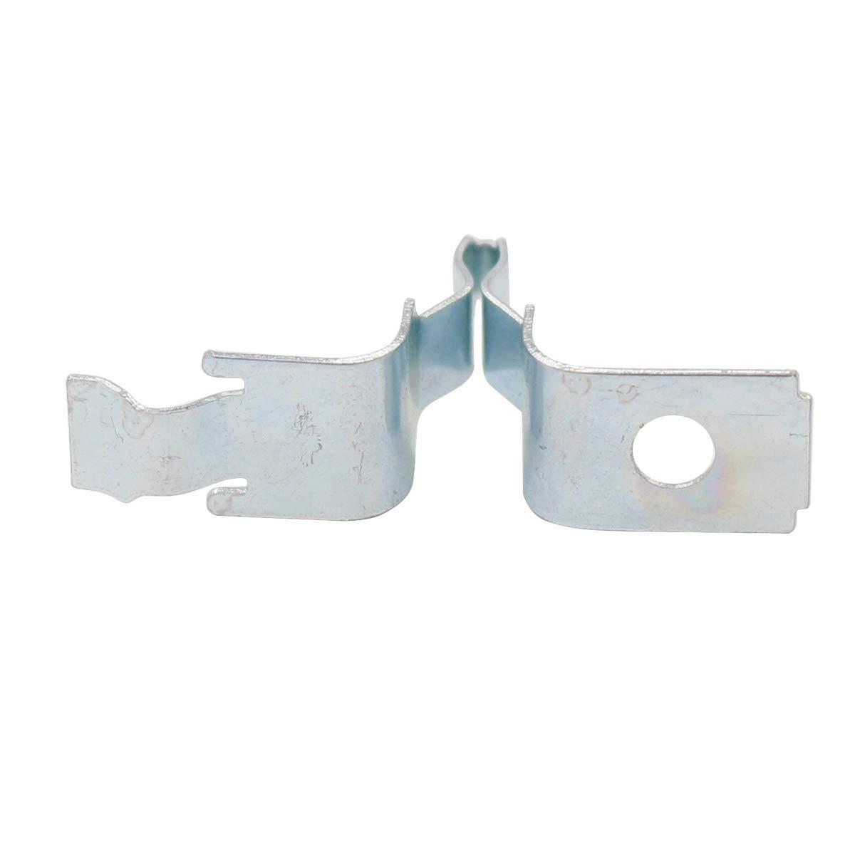 279570 ApplianPar 4 Pack 279570 Dryer Door Latch Strike Kit for Whirlpool Kenmore Maytag KitchenAid Dryers AP3094183 PS334230