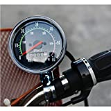 Speed Meter Bicycle Bike Analogue Odometer Speedmeter Cycling Mileage(km) Speed(km/h)
