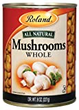 Roland Mushrooms, Whole, 8 Ounce (Pack of 24)