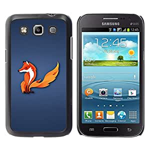 LECELL -- Funda protectora / Cubierta / Piel For Samsung Galaxy Win I8550 I8552 Grand Quattro -- The Fox --