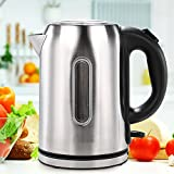 hot items and boiling water - 1.7 Liter General Portable Electric Water Kettle Stainless Steel ,220-240V 1850-2200W, US Plug