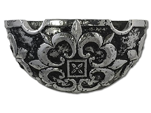 Lauderdale Tile Gothic Sconce Silver (GOT-SIL)