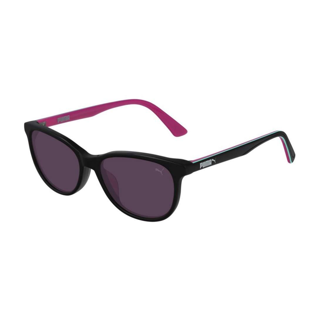 Puma Junior Gafas de sol, Negro (Black/Black/Violet), 47.0 ...
