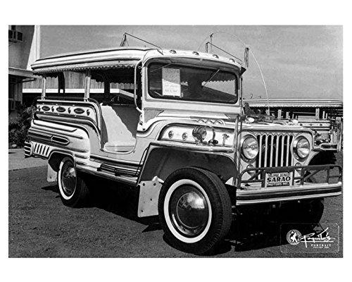 Amazon Com 1965 Jeep Sarao Jeepney Factory Photo Philippines