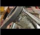 Stainless Steel Zip Ties Exhaust Wrap, TAKSDAI