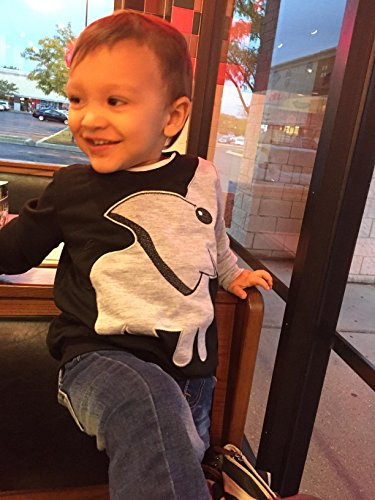 Jomago Boys Shirts Toddler Long Sleeve Top Kids Elephant Tee Toddler Sport Sweatshirt by Jomago (Image #4)