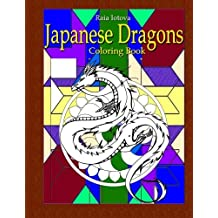 Japanese Dragons: Coloring Book