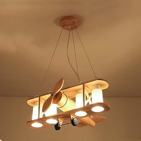 Le luci volanti dei bambini di colore di legno creativo lampadario