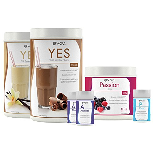 Yoli Better Body System - Transformation Kit Weight Loss System by YOLI®