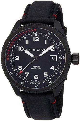 HAMILTON watch khaki takeoff auto air Zermatt mechanical self-winding H76695733 Men's [regular imported goods]