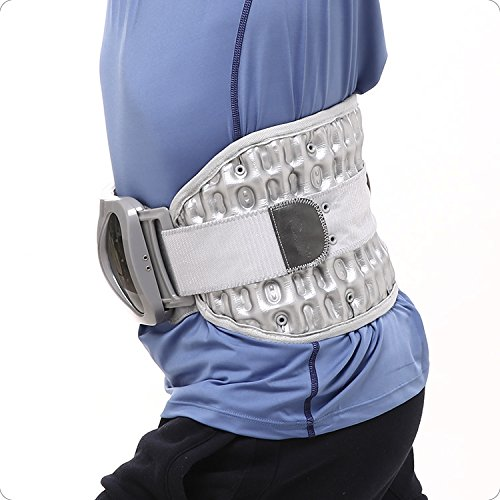 iRSE Spinal Decompression Back Belt, Lumbar support, Spinal Air Traction Physio - Waist Brace Spine Inflatable Traction for Lumbar Pain Relief (Medium) by iRSE Health (Image #6)