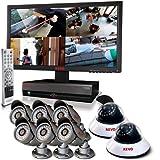 REVO America R164D2EB6EM23-4T 16-Channel 4TB DVR Security System