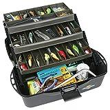 Flambeau Tackle XL 3 Tray Box (Black/Dark Gray(Black/Gray, 20x10.25x10.375-Inch)