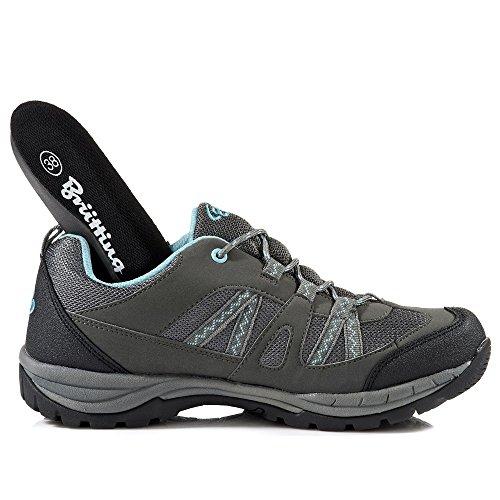 Brütting Pour Fresno Randonnée Chaussures 211183 Grau Femme Basses Kombi de YxYqO6rT
