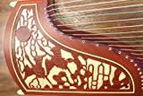 Two Cranes Facing the Sun Carved Guzheng