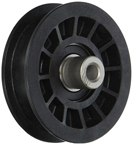 MaxPower 13179 Flat Idler Pulley Replaces Poulan/Husqvarna/Craftsman 194327, - Pulley Idler Craftsman Mower Lawn