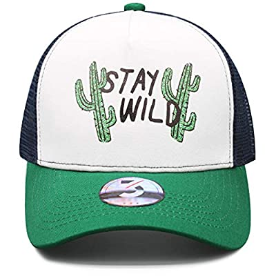 Odelia Walter Funny Cactus Baseball Cap Women Men Dad Hat Trucker Hats Adjustable