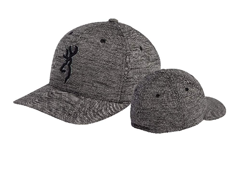 Browning Silver Back Fitted Cap-Gray