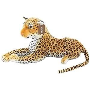 Amazon JESONN Realistic Giant Stuffed Animals Spotted Leopard