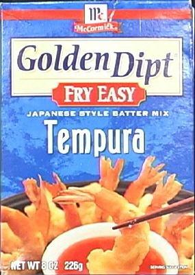 Tempura Batter Mix 8 Ounces (Case of 12)