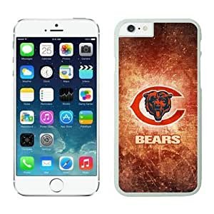 NFL&Chicago Bears iphone 6 Cases White 4.7 inches cell phone cases&Gift Holiday&Christmas Gifts PHNK624294