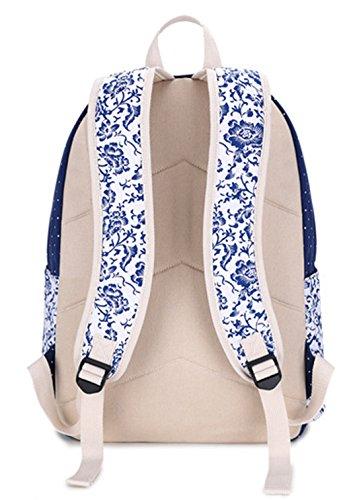 Longzibog Dual verstellbare Schultergurte und Hängeschlaufenband 2016 Neue Maedchen Rucksack Schulranzen Mehrfarbig 8 UWGRwZe
