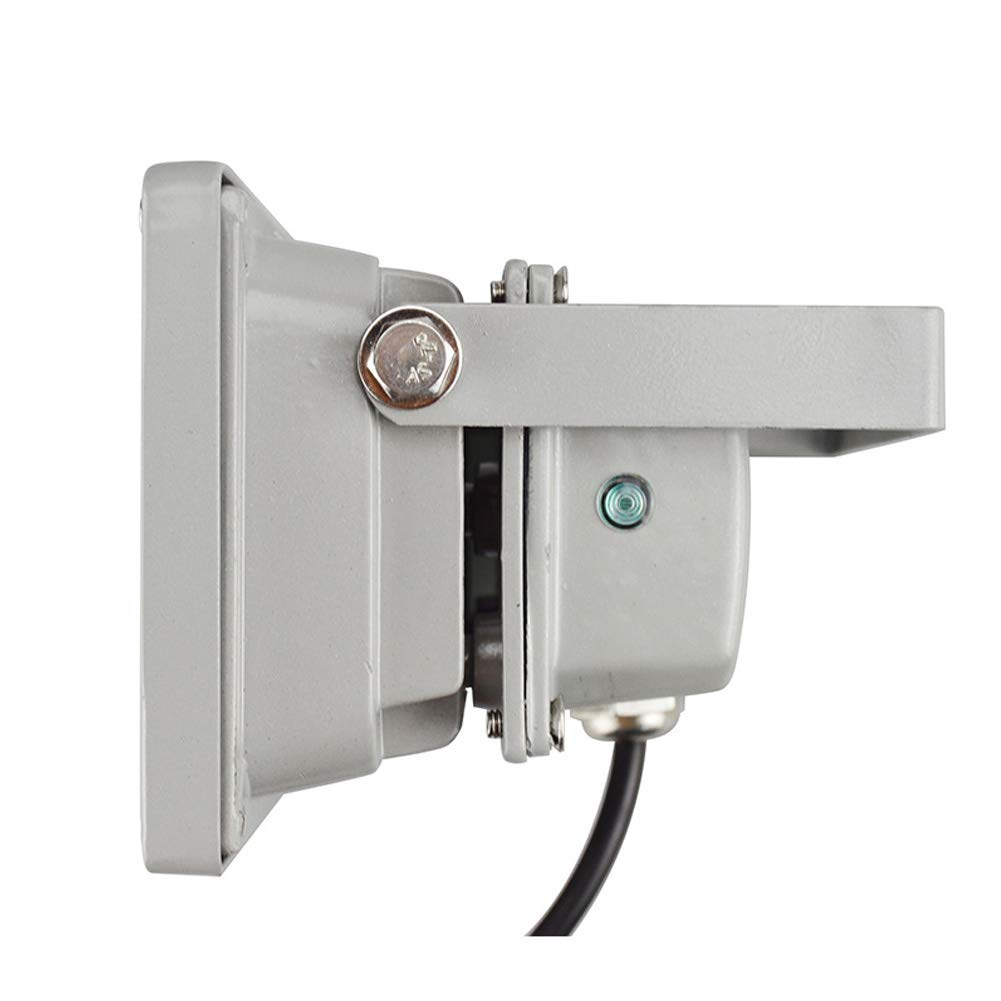 Matedepreso Luz Relleno 6 LED L/ámpara Infrarrojos visi/ón Nocturna C/ámara CCTV IP65 L/ámpara Exterior Iluminador Impermeable IR