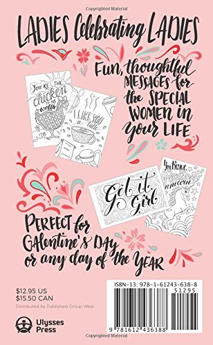 Galentine's Day: 20 Hand-Drawn Cards to Tear, Color and Share with ...
