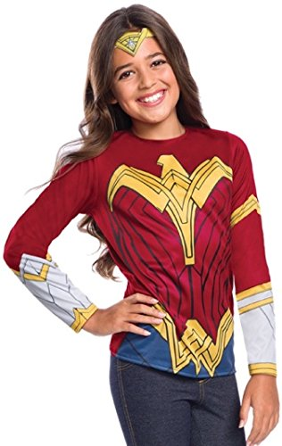 Rubie's Justice League Child's Wonder Woman Costume Top, Large