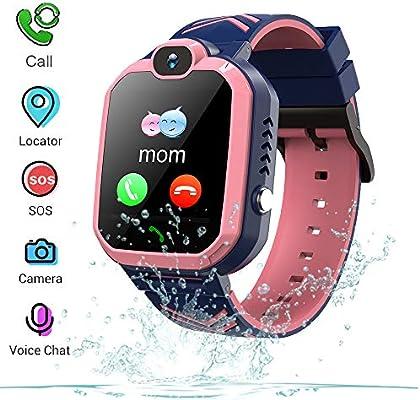 Winnes Inteligente Reloj para Niños, IP67 Impermeable Smart Watch ...