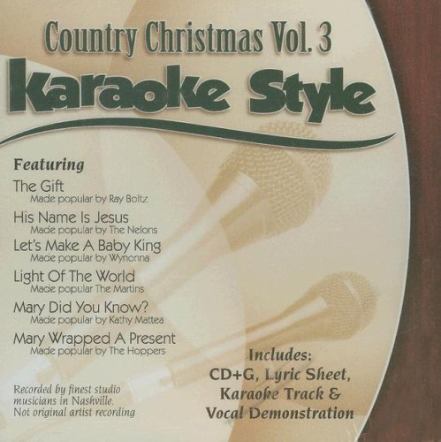 - Country Christmas, Volume 3: Karaoke Style