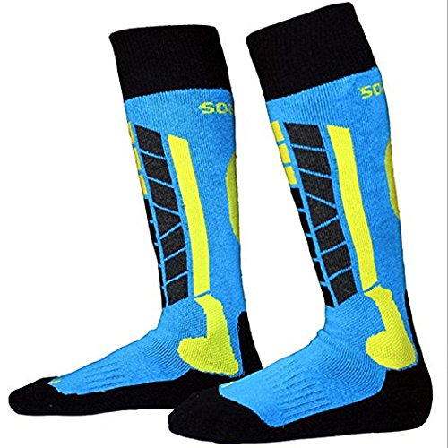 Freestyle - Best Warm Unisex Ski & Snowboard Sock, Lightweight, Thin, Quick Dry, Anti-Bacterial, Moisture Control for Men and Women, Outdoor (Freestyle Womens Snowboard)