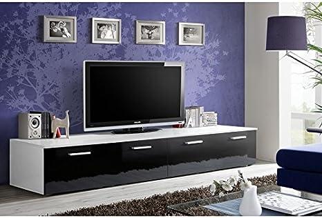 Banco TV – blanco y negro: Amazon.es: Hogar