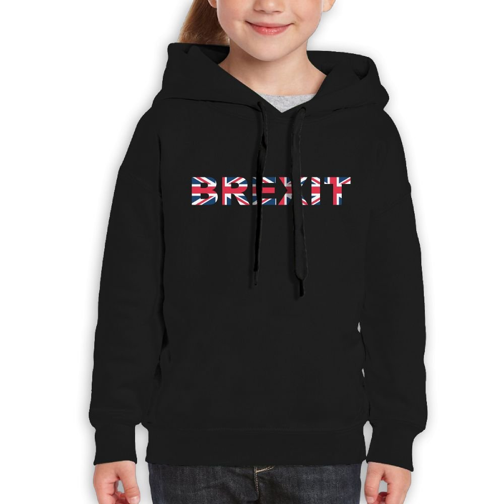 DTMN7 Break Britain 2018 Style Printed Cotton Hoodie For Girl Spring Autumn Winter