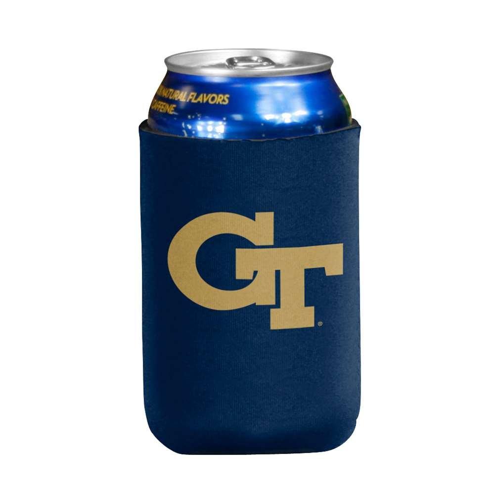 NCAA Georgia Tech Yellow Jackets Flat Drink Coozie