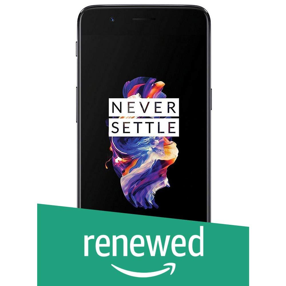 (Renewed) OnePlus 5 (Slate Grey, 6GB RAM, 64GB Storage)