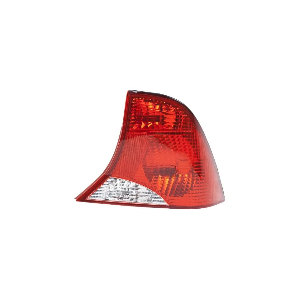 OE Replacement Ford Focus Passenger Side Taillight Assembly (Partslink Number FO2801153)
