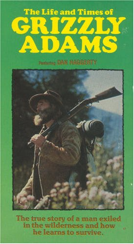 The Life and Times of Grizzly Adams [VHS Tape] (1974) Richard Friedenberg