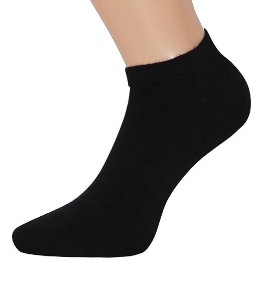 Top Design beste Schuhe Ausverkauf Bambus Sneaker Socken schwarz Sneakersocken bambus schwarz, 1, 3 oder 6 Paar